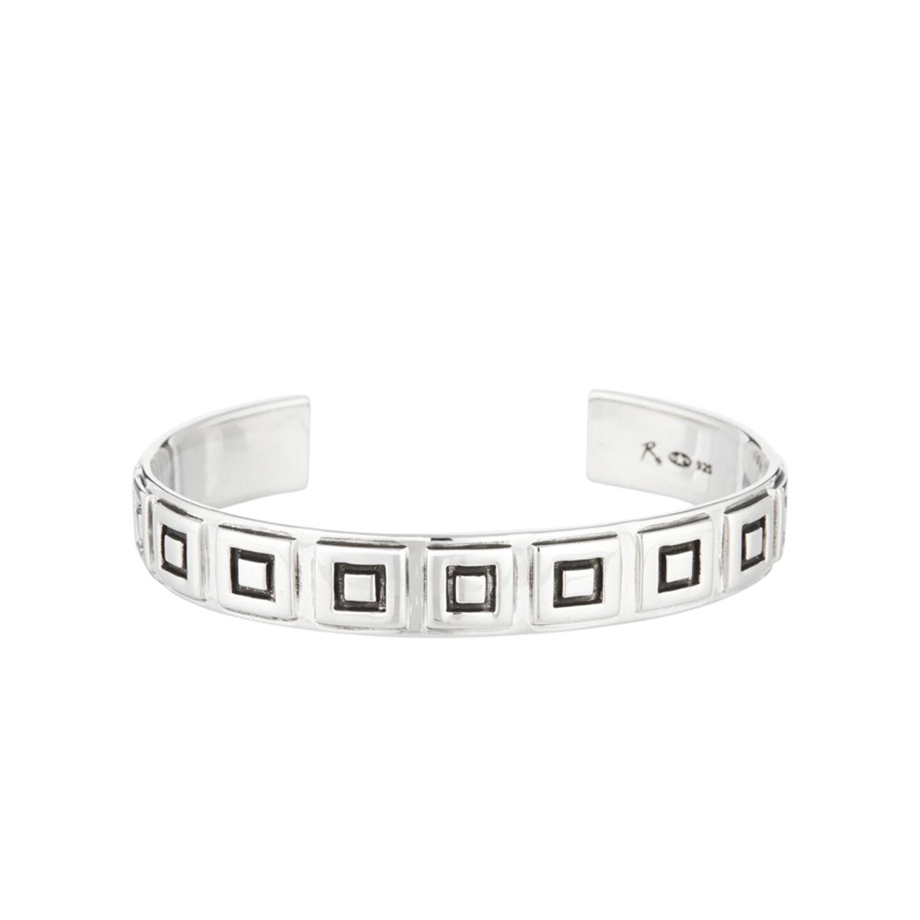 Bracelet jonc Géométrique en Argent - Reminiscence - Modalova
