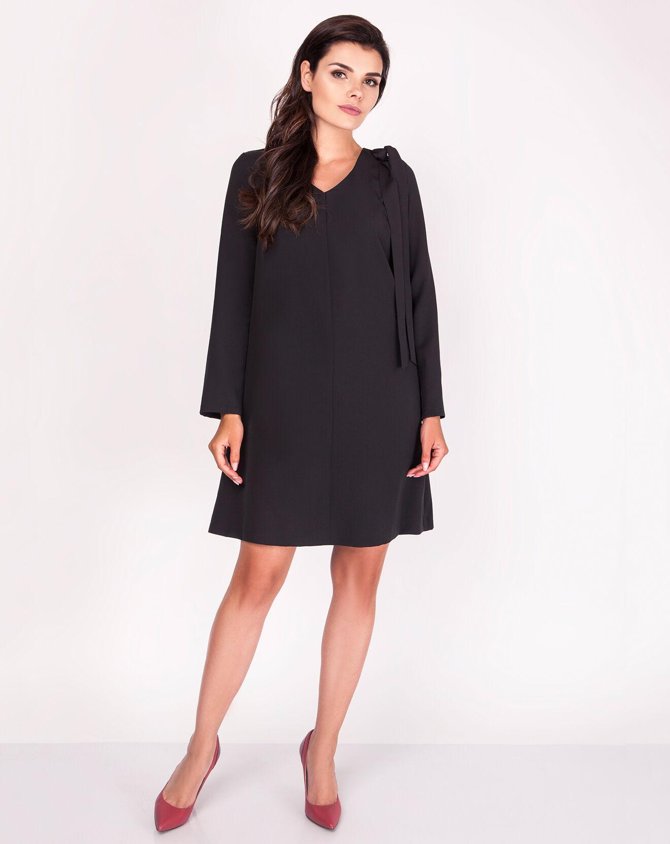 Robe Aubérie noire