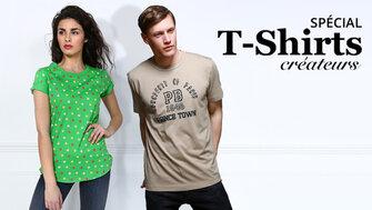 Spécial T-Shirts Créateurs