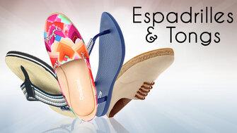 Spécial Espadrilles & Tongs
