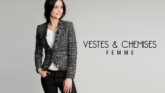 Vestes et Chemises Femme