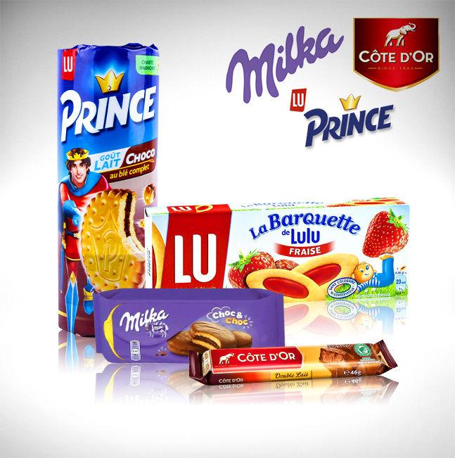 Milka - Côte d'or - Prince de Lu