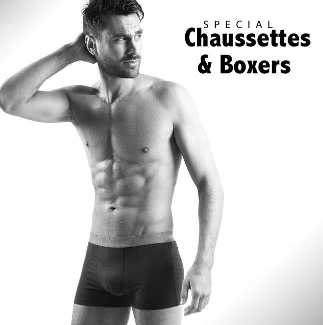 Spécial Chaussettes et Boxers