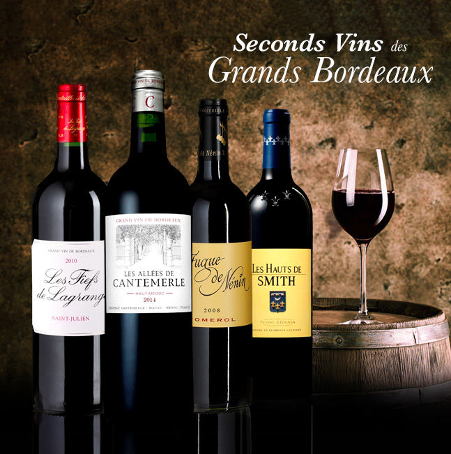 Seconds Vins des Grands Bordeaux
