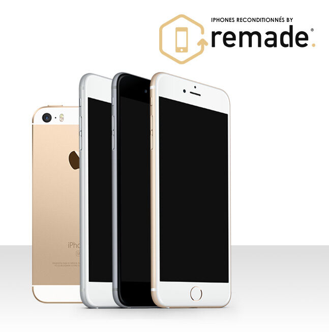 Iphones reconditionnés  by Remade
