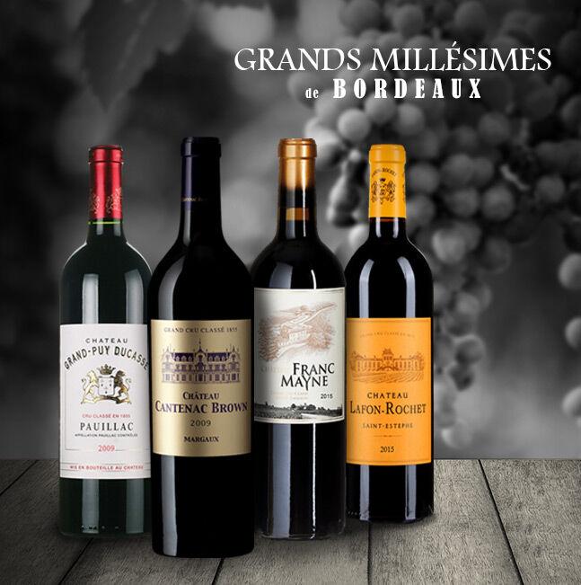 Grands Millésimes de Bordeaux