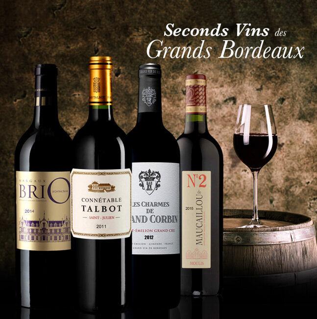 Seconds Vins des Grands Bordeaux