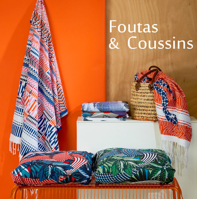 Spécial Foutas et Coussins