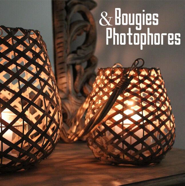 Bougies et Photophores