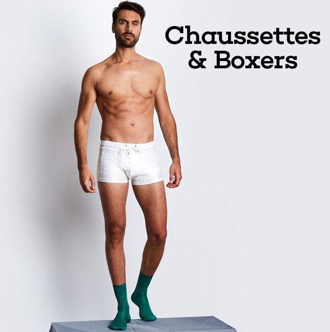 Chaussettes et Boxers