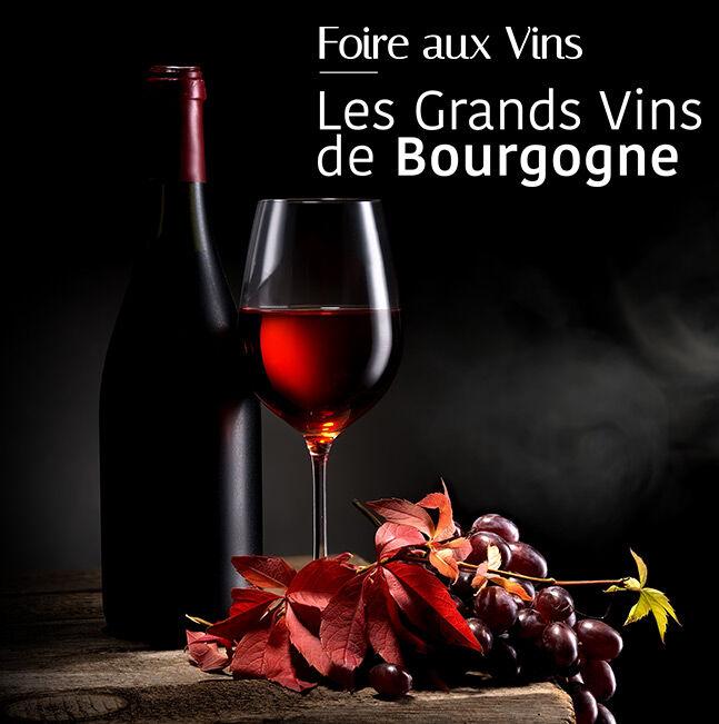 Foire aux Vins : Grands Vins de Bourgogne