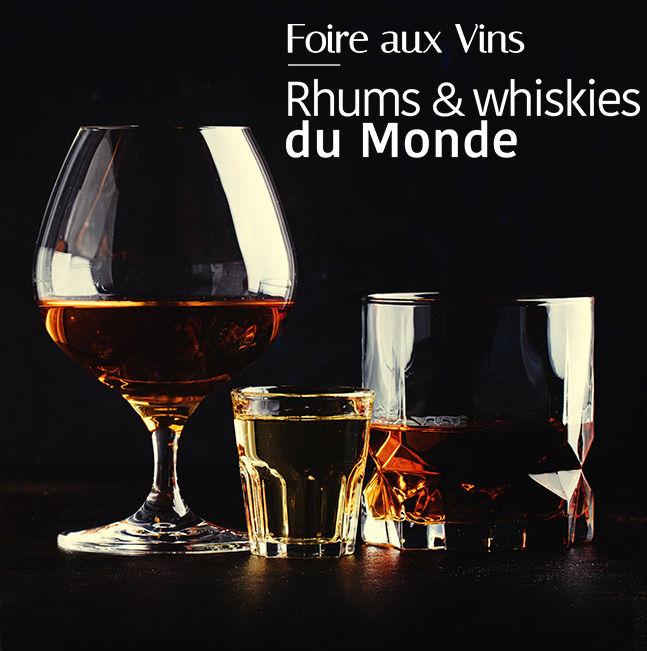 Rhums & Whiskies du Monde