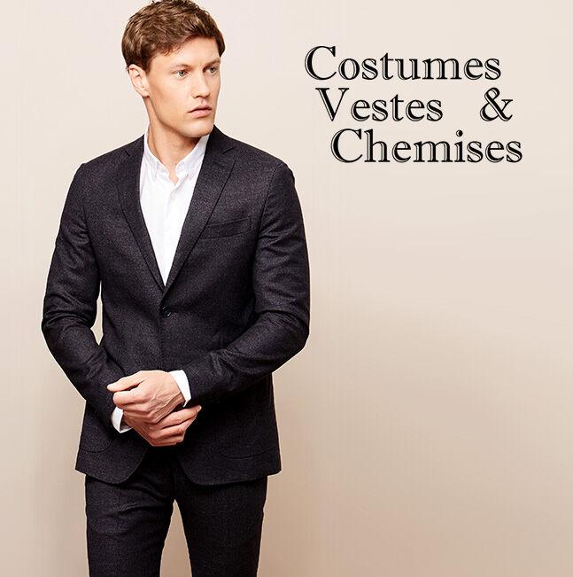 Costumes, Vestes & Chemises