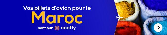 Le Maroc avec ooofly