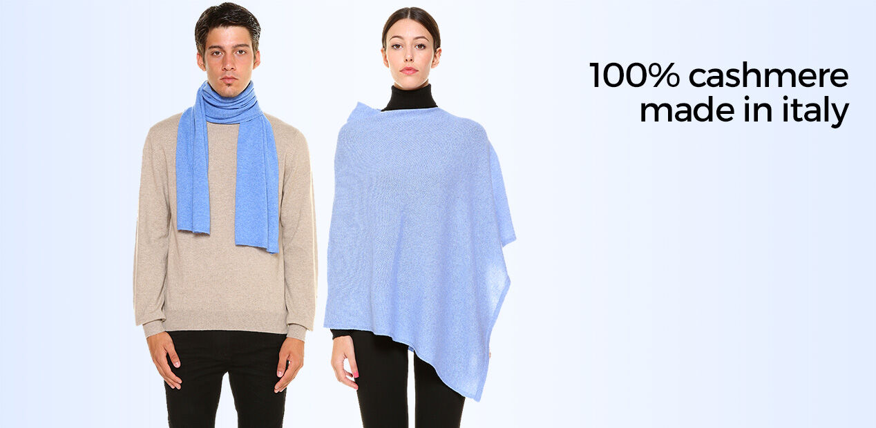 100% Cashmere Made In Italy