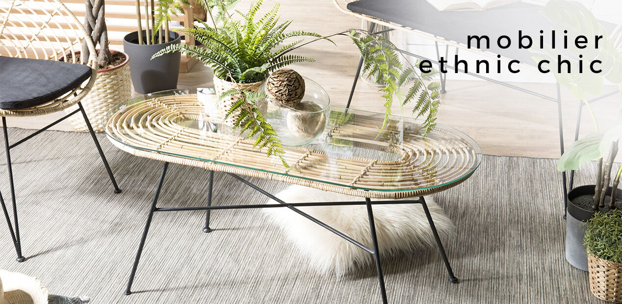 Mobilier Ethnic Chic