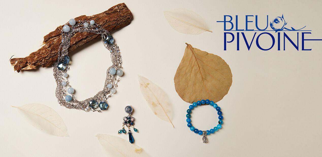 Bleu Pivoine