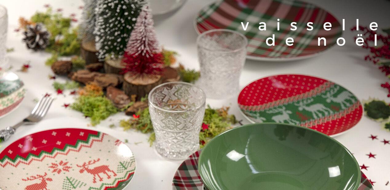 Vaisselle de Noël