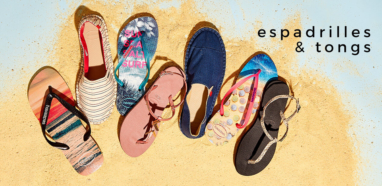 Espadrilles & Tongs