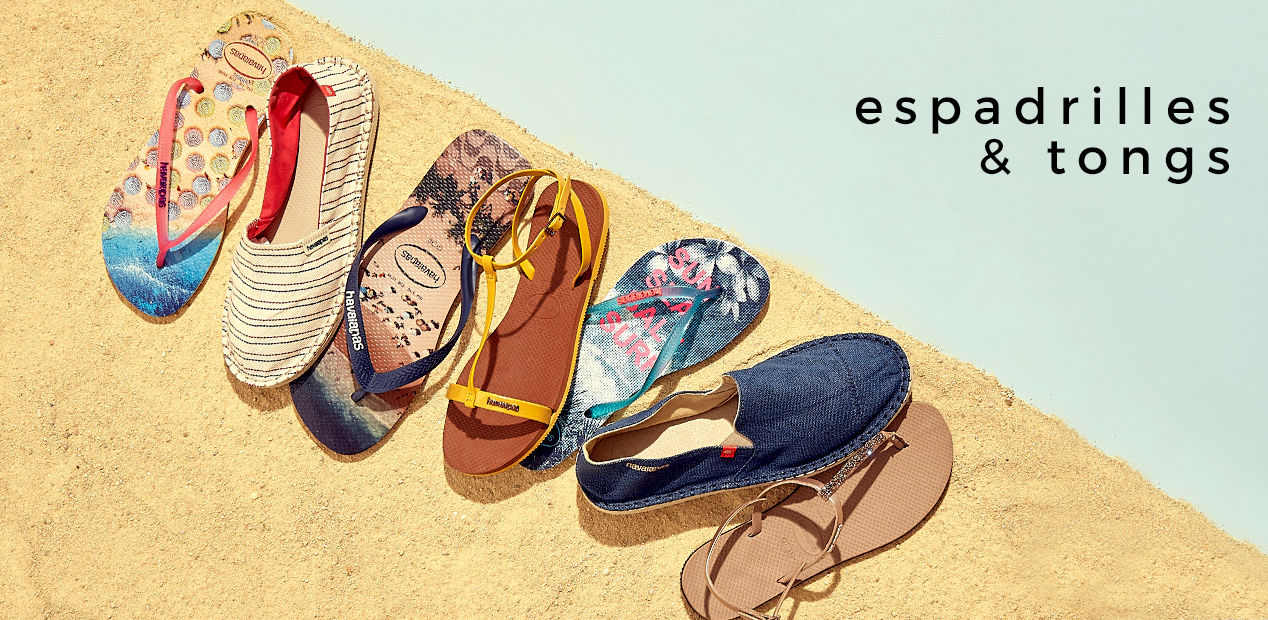 Espadrilles & Tongs