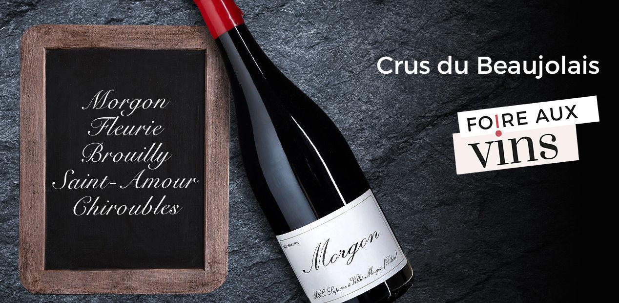 Crus du Beaujolais - Foire Aux Vins