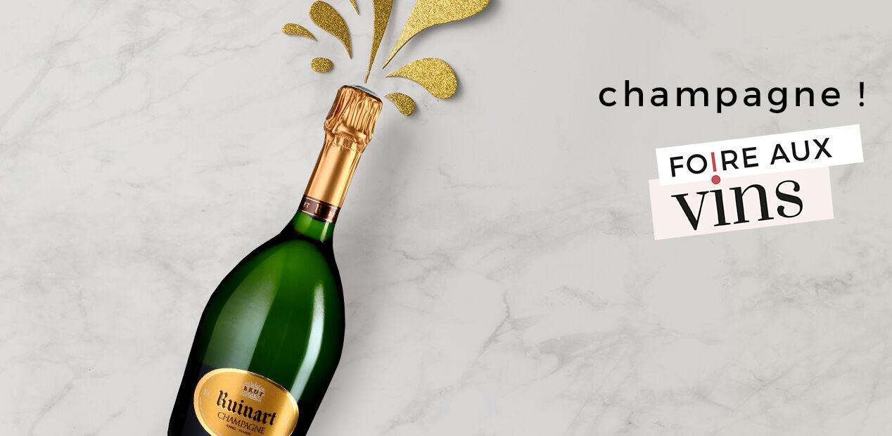 Champagne !  Foire Aux Vins
