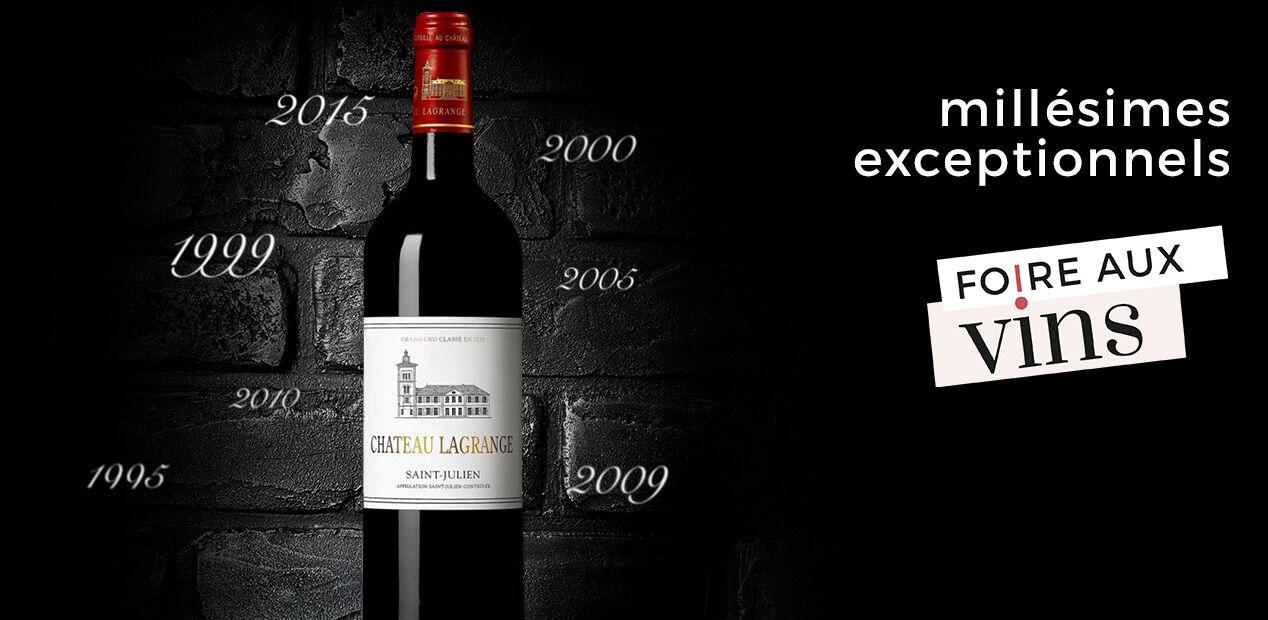 Millésimes Exceptionnels 25 Vin - Foire Aux Vins