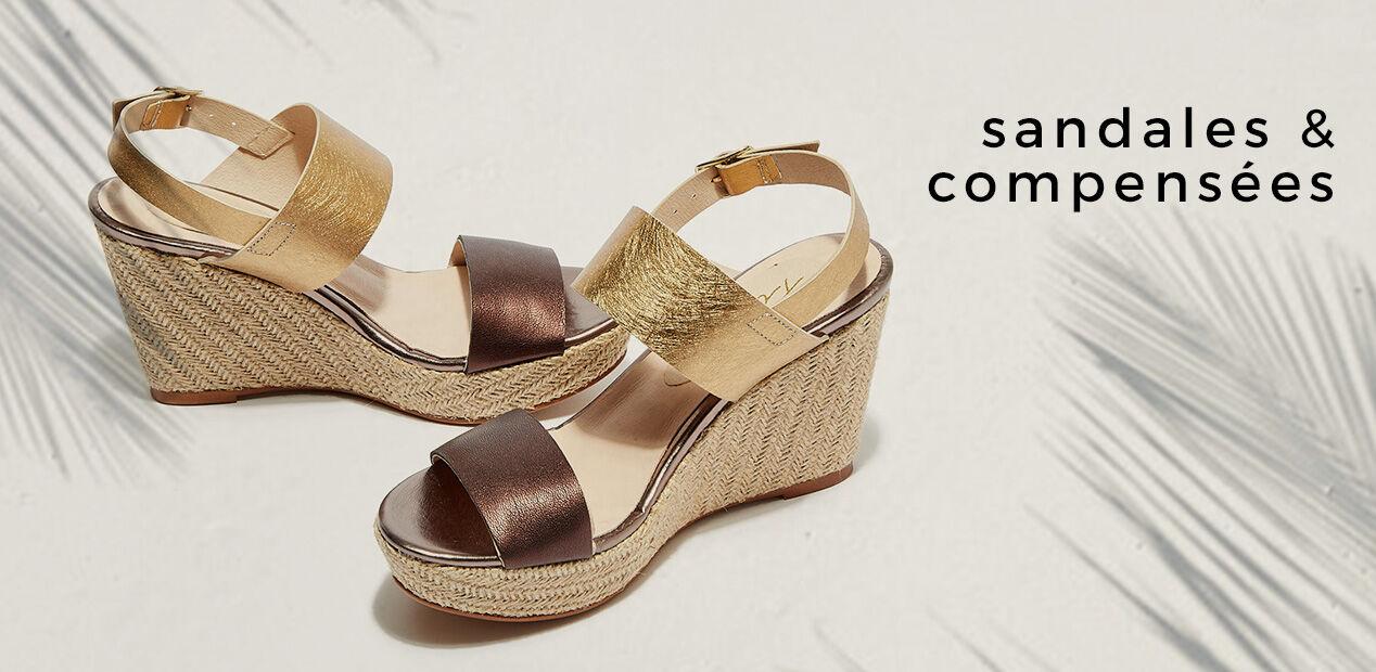 Sandales & Compensées