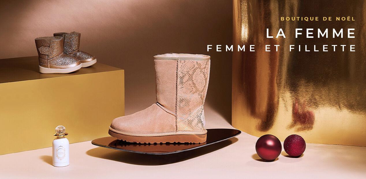 Boutique de Noël - La Femme - Femme & Fillette