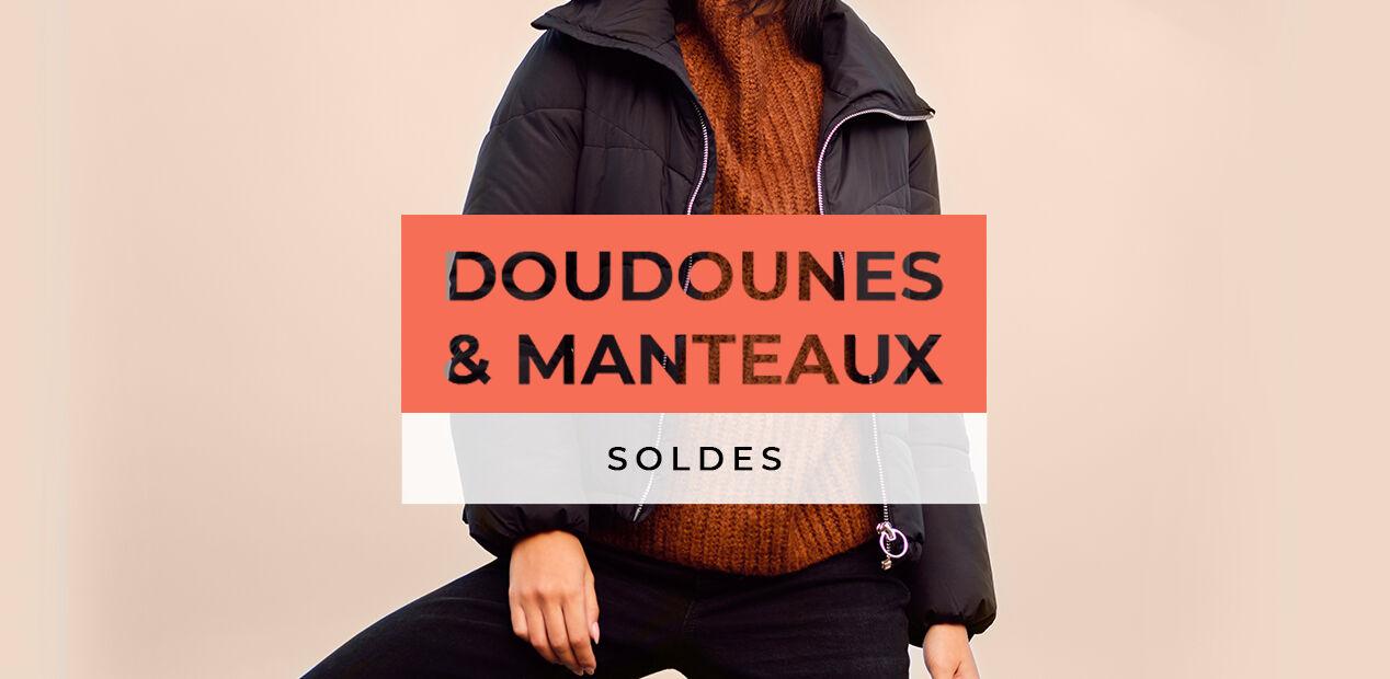 Soldes Doudounes & Manteaux