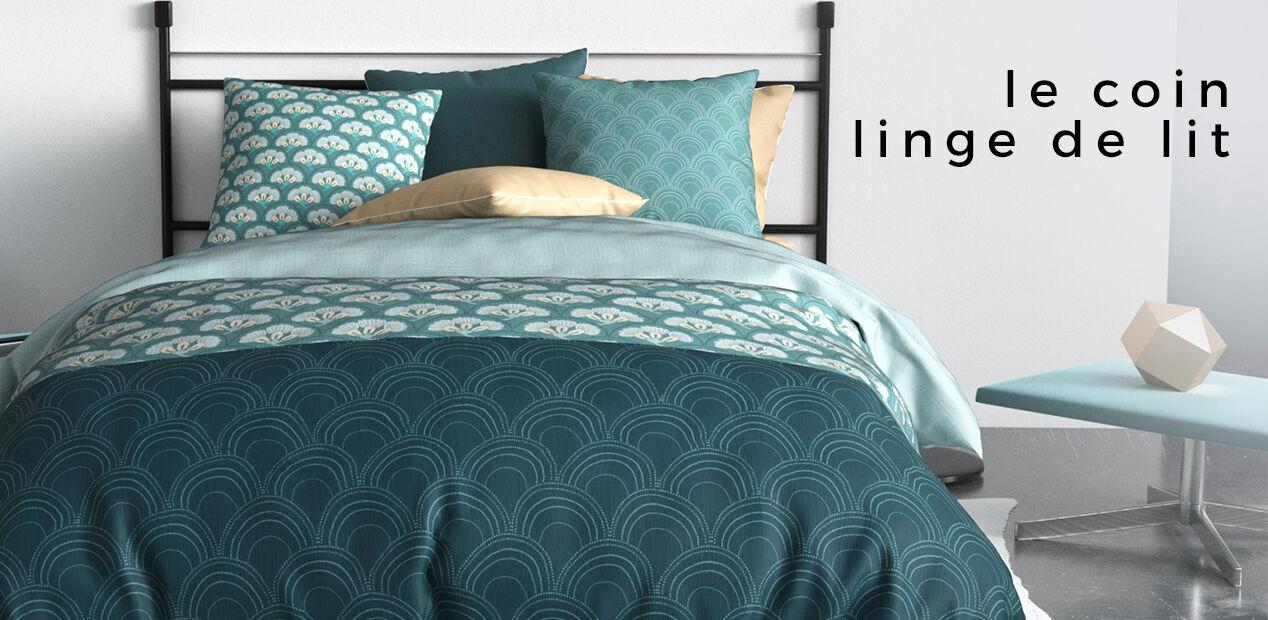 Le coin linge de lit