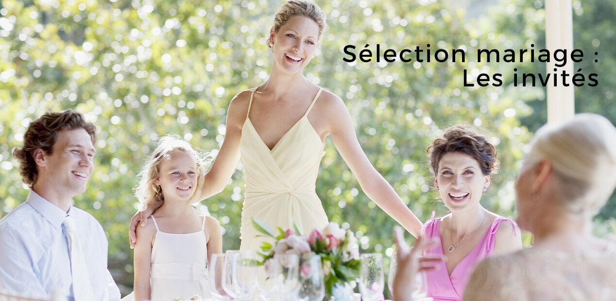 Sélection mariage : Les invités