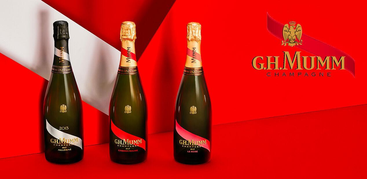Champagne G.H. Mumm