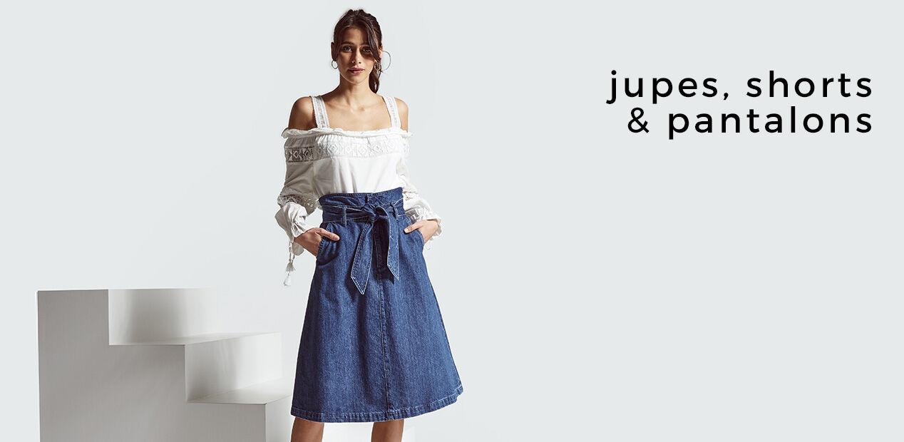 Jupes, Shorts & Pantalons