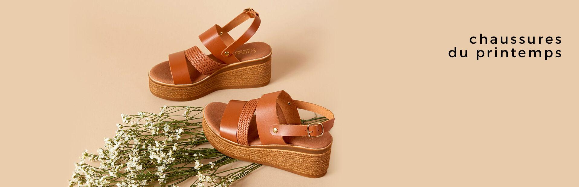 Chaussures du Printemps