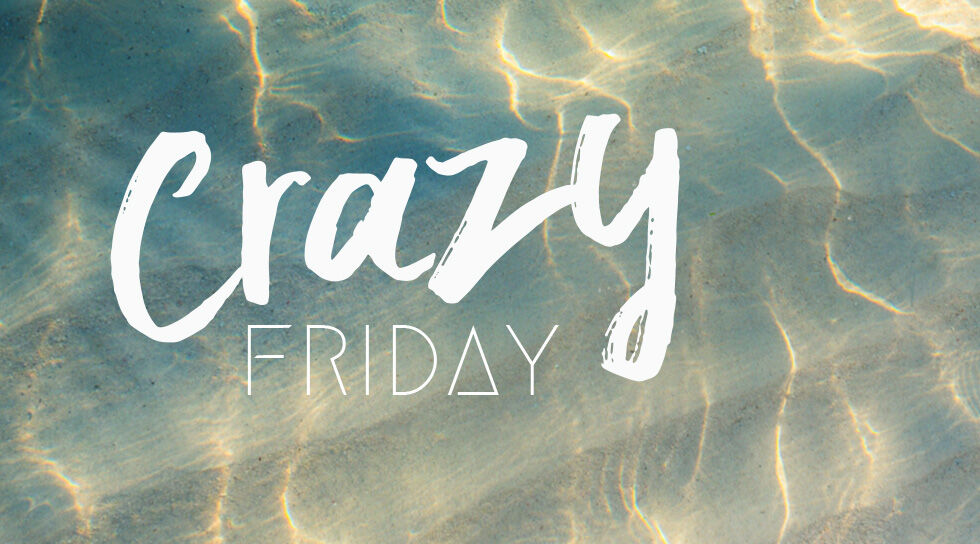 CRAZY FRIDAY en vente privilège sur BAZARCHIC
