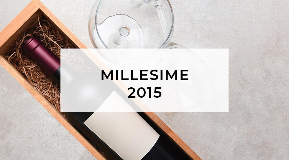 MILLESIME 2015 en vente privée chez BAZARCHIC